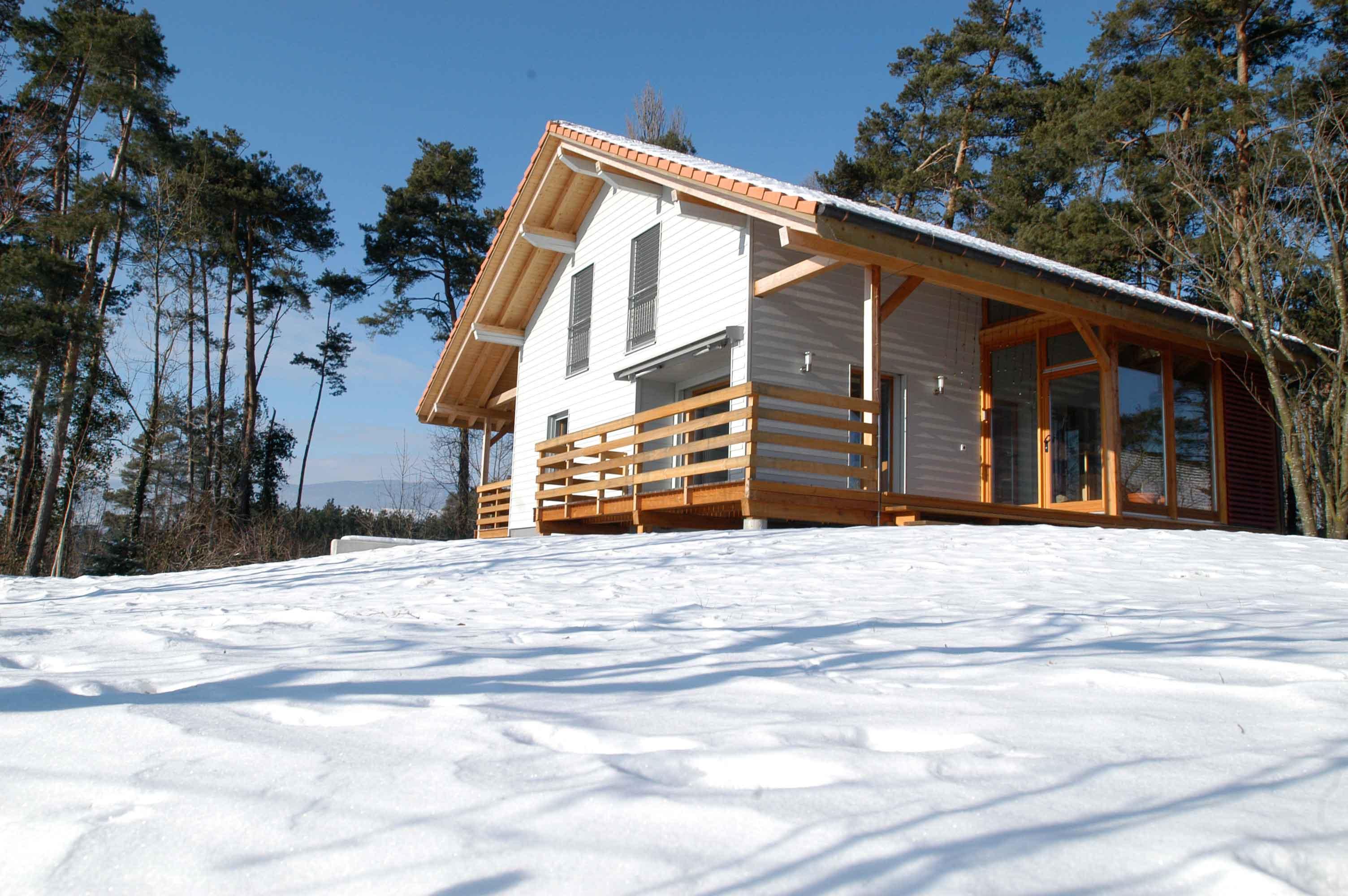 Maison individuelle à Yvonand