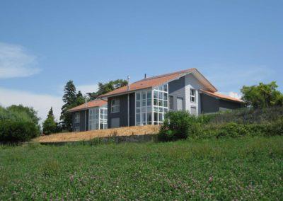 Maison familiale labellisée Minergie à Ecublens
