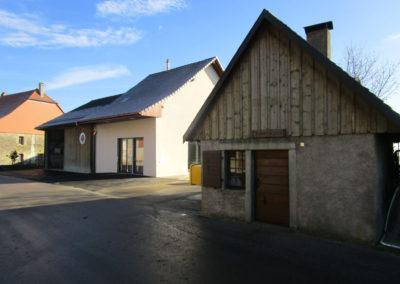 Salle communale à Cremin