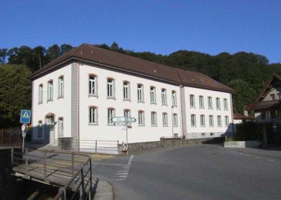 Transformation d'un bâtiment polyvalent à Lucens